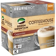 Green Mountain Coffee Coffeehouse Cappuccino K Cup Pods, 9 Count