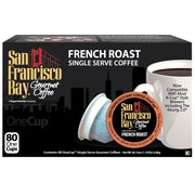 San Francisco Bay OneCup French Roast Single Serve Coffee, 80 Pack