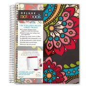 "Erin Condren Spiral Deluxe Notebook, Paisley, 8.5"" x 11"" College Ruled (1415738)"