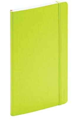 Poppin Lime Green Medium Softcover Notebooks Set of 25