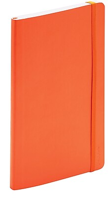 Poppin Orange Medium Softcover Notebooks Set of 25