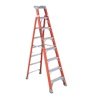Louisville™ IA Class Series FS1500 Fiberglass Extra-Heavy Duty Step Ladder, 8'