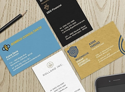 Business Card Buying & Design Guide