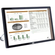 AOC e1659Fwu 16-Inch Ultra Slim 1366x768 Res 200 cd/m2 Brightness USB 3.0-Powered Portable LED Monitor w/ Case