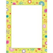 "Great Papers! Spring Flowers Letterhead, 8.5"" x 11"", 80 count (2014115)"