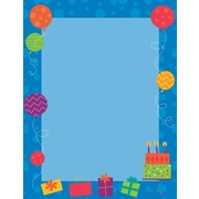 """Great Papers! Birthday Party Letterhead, 8.5"""" x 11"""", 80 count (2014387)"""