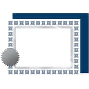 """Great Papers! Silver Scholar Premium Certificates, Seals and Covers Kit, 8.5"""" x 11"""", 30 count (2015074KIT)"""