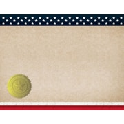 "Great Papers! Patriotic Certificate, 8.5"" x 11"", 25 count (2015083)"