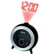 Dual Alarm Projection Clock Radio