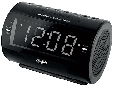 AM\/FM Dual Alarm Clock Radio with Nature Sounds