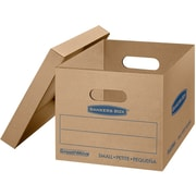 Bankers Box SmoothMove Classic Moving Boxes, Small, 15 x 12 x 10 Inches, Pack of 10 (7714203)