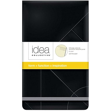 TOPS® Idea Collective® Hardbound Journal, Top Bound, 5-1/4