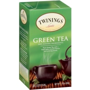 Twinings Green Tea Bags, 25/BX