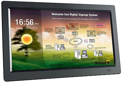 Sungale 14 Wall Hanging Digital Signage