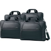 "Samsonite Xenon 2 17.3"" Slim Briefcase, Black, 4/Pack (497651041)"