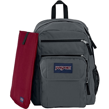 Jansport Digital Student Backpack, Forge Grey (T19W6XD) | Staples®