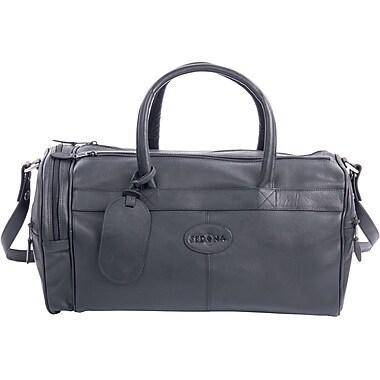 Bugatti Murrietta Leather Duffle Bag, Black