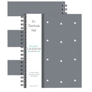 "Kahootie Co™ It's That Kinda Day™, Undated Monthly Calendar, 9"" x 11.5"", Gray Design (ITKCLGD)"