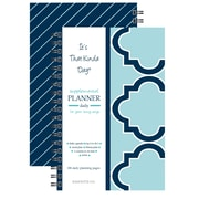 """Kahootie Co™ It's That Kinda Day™ - Daily Planner, 6"""" x 9"""", Teal (ITKDT)"""