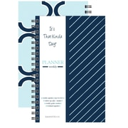 "Kahootie Co™ It's That Kinda Day™- Weekly Planner, 6"" x 9"", Navy Stripe (ITKWNS)"