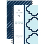 "Kahootie Co™ It's That Kinda Day™- Weekly Planner, 6"" x 9"", Teal (ITKWT)"