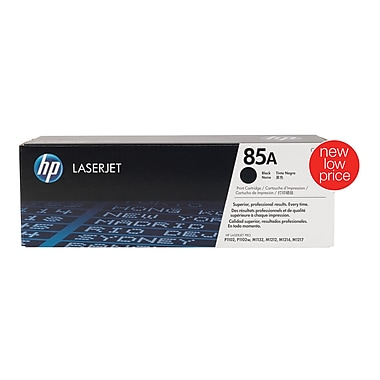 HP 85A Toner Cartridges, Black, 2/Pack (CE285D)