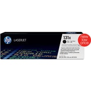 HP 131X Black Toner Cartridge, High Yield (CF210X)