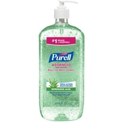 Purell® Advanced Instant Hand Sanitizer w/ Aloe, 1 Liter
