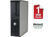 Dell Optiplex 760 Desktop Intel Core 2 Duo 3.0Ghz 4GB RAM 1TB Hard Drive Windows 10 Professional 64Bit - Refurbished