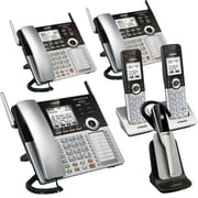 VTech CM Series 4-Line Small Business Phone System – Complete Office Bundle with CM18445 + Two CM18245 + Two CM18045 +1 IS6000