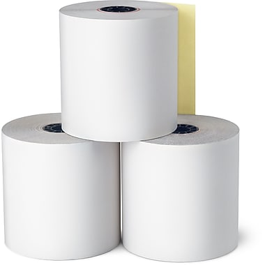 Staples Credit Card Paper Roll, 2 3/4