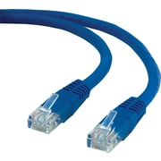 Staples 14' CAT5e Ethernet Networking Cable, Blue