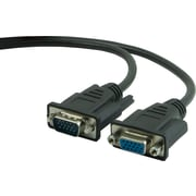 Staples 10' VGA/SVGA Monitor Extension Cable, Black