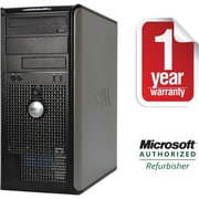 DELL 780 Tower Core 2 Duo-2.93GHz, 4GB Ram, 750GB, DVDRW Drive with Win 7 Pro 64bit Refurbished