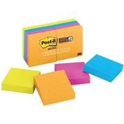 "Post-it® Super Sticky 2"" x 2"" Jewel Pop Notes, 8 Pads/Pack"