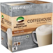 Green Mountain Coffee Coffeehouse Vanilla Latte K-Cup Pods, 9 Count