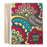 2016-2017 Erin Condren 18 Month Vertical LifePlanner™, Paisley Gold, Metallic Cover (2106860)