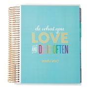 2016-2017 Erin Condren 18 Month Horizontal LifePlanner™, Do What You Love, Metallic Cover (2106856)