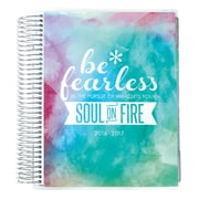 2016-2017 Erin Condren 18 Month Horizontal LifePlanner™, Watercolor Be Fearless (2106853)