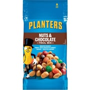 Planters® Trail Mix, Nuts & Chocolate, 2 oz. Bags, 72 Bags/Box