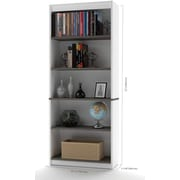 Innova Bookcase in White and Antigua