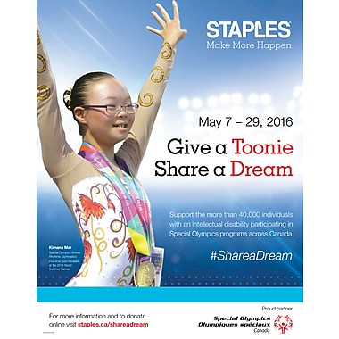 Give A Toonie. Share A Dream, $5 Donation