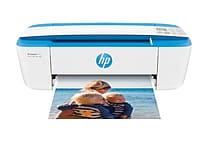 HP DeskJet 3755 Compact All-in-One Photo Printer with Wireless & Mobile Printing, Instant Ink ready - Blue Accent (J9V90A)