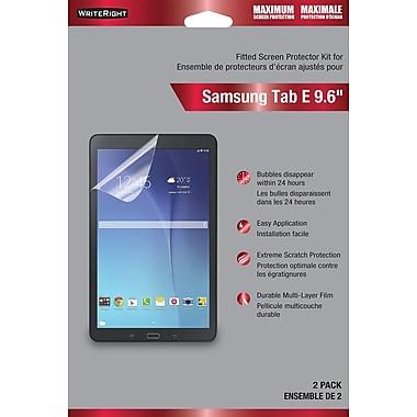 WriteRight – Protecteur d'écran, pour Samsung Galaxy Tab E 9,6 po, Protection maximale, 2/paq.