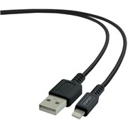 Staples 2 Meter Lightning to USB Cable for iPad, iPhone, iPod; Black