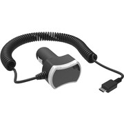 Staples® Rapid Car Charger with micro-USB Connector, Black