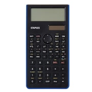 Staples® Blue Scientific Calculator, 240 Function