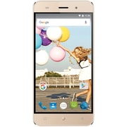 "Orbic Slim Unlocked 5"" 4G LTE Android Smartphone - Gold with T-Mobile SIM Starter Kit + $40 in FREE Airtime"