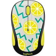 Logitech M325C Wireless Optical Ambidextrous Mouse, Lemon (910-004682)