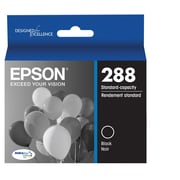 Epson T288 Black DuraBrite Ultra Ink Cartridge, (T288120)
